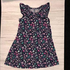 Floral girls 4 Jumping beans recess dress tunic